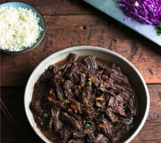 A delicious Asian style pot roast flavored with orange and ginger - low carb, keto and Paleo friendly!