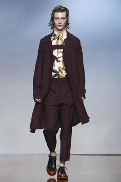 Marni Fashion Show Menswear Collection Spring Summer 2017 in Milan