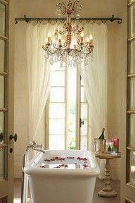 Gypsy Purple home. Romantic Bathrooms, Dream Bathrooms, Beautiful Bathrooms, Luxury Bathrooms, Home Interior, Interior Design, Bathroom Interior, Kitchen Interior, Purple Home