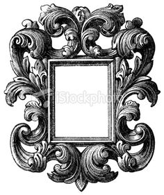 picture frame Royalty Free Stock Vector Art Illustration