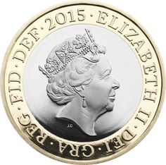 The Queens fifth coin portrait by Jody Clark
