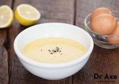 Coconut oil mayonnaise recipe - Dr. Axe