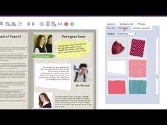 Yearbook Theme Idea: Scrapbook Theme - SPC Yearbooks