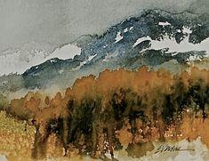 Hills ablaze by E. A. Verdine