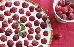 Ivka w kuchni - przepisy, fotografia i stylizacja kulinarna: Tarta z malinami Raspberry, Food And Drink, Fruit, Cooking, Blog, Pies, Fotografia, Kitchen, Blogging