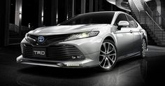 Japanese 2018 Toyota Camry Debuts TRD And Modellista Trims #Japan #Modellista