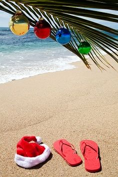 Someday I will spend Christmas on a beach somewhere.......