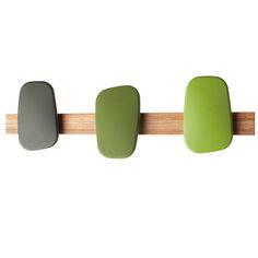 appendiabiti Polku, creato da Mikko Laakkonen per Marimekko Marimekko, Scandinavia Design, Interiors Online, Wall Racks, Bathroom Hardware, Everyday Items, Clean Design, Decoration, Color Mixing