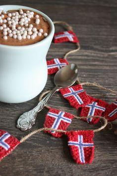 Rafens: Søkeresultat for 17 mai 17. Mai, Time To Celebrate, Norway, Holiday, Dessert, Spring, Crochet, Design, Vacations