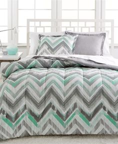Dylan 3-Pc. Reversible Full/Queen Comforter Set - Bed in a Bag - Bed & Bath - Macy's