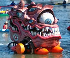 Annual Arcata Kinetic Sculpture Race. Google Image Result for http://windsweptsoftware.com/myhouse/race/race22b.jpg
