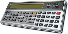 TRS-80 Pocket Computer - [ A fun toy from the early 80s. It was REEEEALY  SLOW but Tandy(Radio Shack) was smart enough to make it, and all their computers, programmable in Basic (that helped make their stuff sell). IT was not particularly useful, but fun. - PSC]