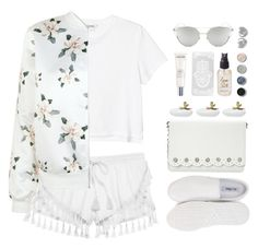 """""""sweet construct"""" by collagette ❤ liked on Polyvore featuring Monki, Nly Shoes, Olivine, Chicnova Fashion, Victoria's Secret, Terre Mère, Lancôme, Dot & Bo, Nine West and Boohoo"""