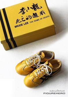 TE35-12 1/6 Handmade Sneaker Game of Death | eBay