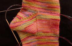 Fleegle's Join for resuscitating holey socks