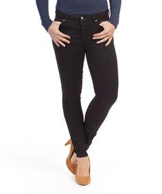 Look at this #zulilyfind! Crest Black FLX Ankle Skinny Jeans by paperdenim&cloth #zulilyfinds