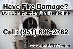 Have Fire Damage? BST Construction Can Remediate Call (951) 696-2782 www.thebstco.com #restoration #remediation #damagerestorationservices #damagecleanup #california   #contractor #construction #firedamagerestoration #thanksgivingdecor #seasonsgreetings #timeforupgrades