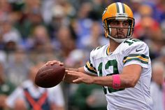 Aaron Rodgers Photos: Green Bay Packers v Baltimore Ravens