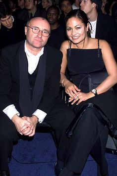 Phil Collins and Orianne Cevey----The couple wed in 1999 and divorced in 2008. He settled their divorce for $46 million.