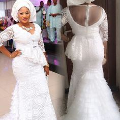 latest aso ebi lace styles ebi styles 2019 lace,latest aso ebi lace styles lace styles 2019 for ladies,latest lace gown styles aso ebi styles ebi lace gown styles lace styles African Lace Styles, African Dresses For Women, African Attire, African Fashion Dresses, African Women, Gown Pictures, Aso Ebi Styles, Ankara Styles, Ankara Gowns