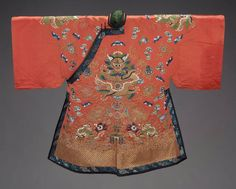 Bridal Coat (Longpao) Chinese, 19th century The Museum of Fine Arts, Boston