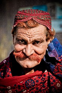 Such character in his face. Red by M. Hakan ÖZSARAÇ, via 500px