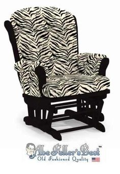 Have the glider~ and she grew up? Put on a new Zebra Print cover!