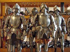 Armures (réserves visibles du musée) Département ancien Musée de l'Armée