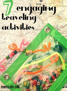 Engaging Play Pouches for Traveling - ohmyglory