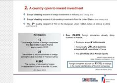 2. A country open to inward #investment http://www.invest-in-france.org/Medias/Publications/1429/10-reasons-to-invest-in-France-july-2013.pdf