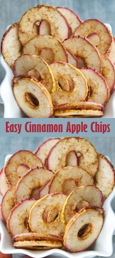 Ideas Fruit Diy Recipes Cinnamon Chips For 2019 Fruit Appetizers, Fruit Snacks, Appetizer Recipes, Apple Recipes, Fall Recipes, Easy Fruit Pizza, Cinnamon Apple Chips, Recipes With Marshmallows, Food And Drink