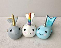 Narwhal, Unicorn Horn Ring Holder, Buyer's Choice, Ocean Sea Animal, Whimsical Beach Wedding Gifts, Coastal Art Decor, Spirit Animal Totem