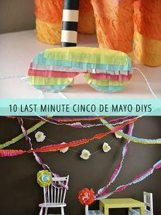 CINCO DE MAYO DIYS
