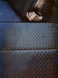 Tanager Stairs, 1954 / by Saul Leiter