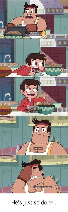 Same Rafael, same.  Gosh Marco shut your face and think a second!!  Star vs the Forces of Evil Credit @livieblue