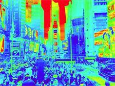 Matrix-Skyscrapers in Times Square
