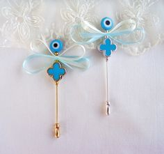 Boys Witness pins Martirika Martyrika Pin Mati Blue by VessCrafts