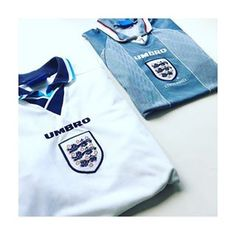 "d93e3dc7148 Iconic Kits on Instagram  ""Euro 96 England home and away shirts  🏴󠁧󠁢󠁥󠁮󠁧󠁿  england  threelions  euro96  umbro  umbrofootball  football  ..."