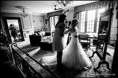 Superb light in the bridal suite at Lainston House for Veronica's preparations, more here -