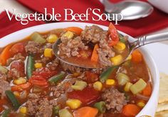 Weight Watchers Beef Vegetable Soup