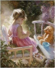 """""""Sweet childish days, that were as long 