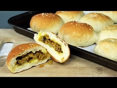 Vegan Curry Beef Bun Recipe | Mary's Test Kitchen - YouTube