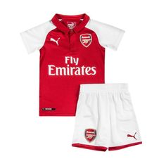 04d36f129 Arsenal home children s 2018-2019 Jersey W Shorts Kid Youth For Age 3-13