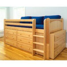 Low Loft bed.