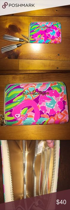 Lilly Pulitzer wristlet/wallet ⭐️NWOT⭐️ NO TRADES❌ Lilly Pulitzer Bags Clutches & Wristlets