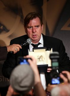 Timothy Spall Photos Photos - Actor Timothy Spall, winner of the Best Actor…