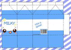Milk Milky PaperCraft Sheet by *kickass-peanut on deviantART