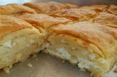 Greek Recipes, Desert Recipes, Cooking Recipes, Healthy Recipes, Spanakopita, Feta, Deserts, Food And Drink, Bread