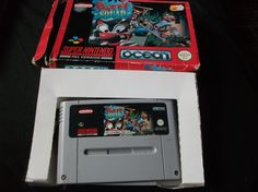 For Super Nintendo (SNES) Console! Classic platforming action in this sequel to Super Putty! PUTTY SQUAD! Game comes in box, but has no instructions. Box is in the usual old, bashed-cardboard-SNES-game-box state, (see photos) but comes with its insert and holds its shape well on the shelf!   eBay!
