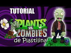 Tutorial Zombie (Plantas vs Zombies) de Plastilina - YouTube